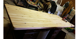 Table top in the works