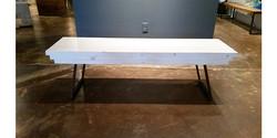 Bench or table whitewash finish-Pine