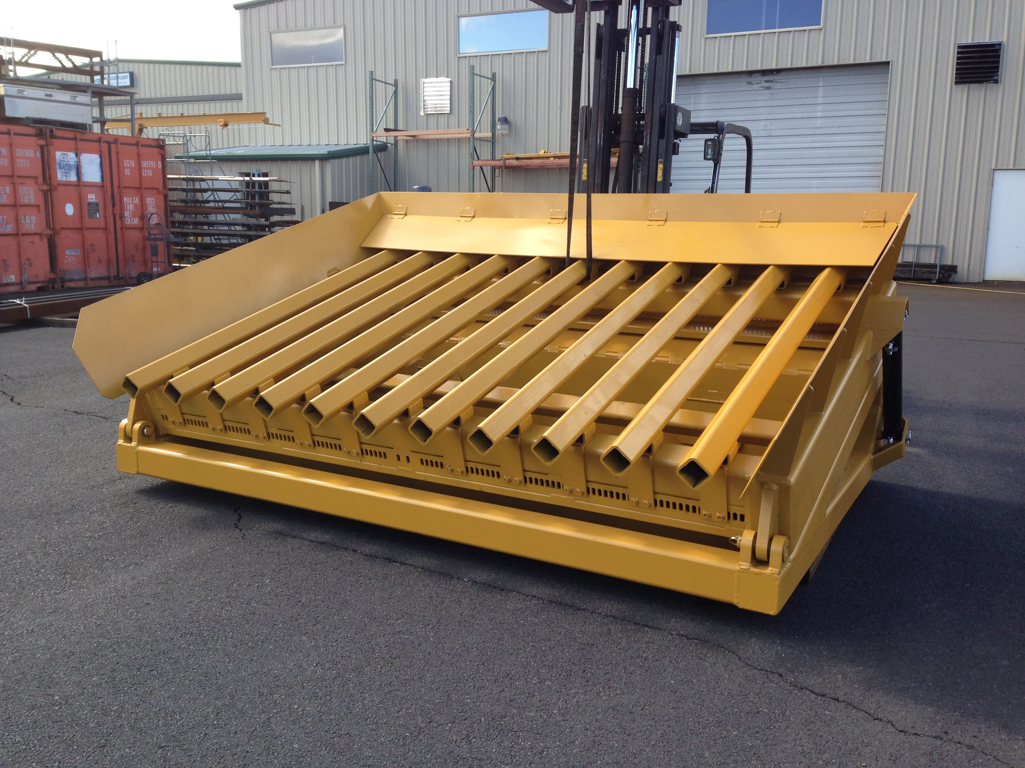 Hydraulic Hopper Top