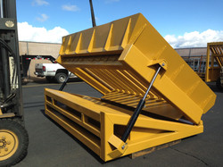 Custom Hydraulic Hopper Top