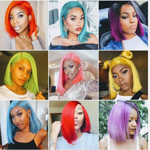 Full Human Lace Wigs