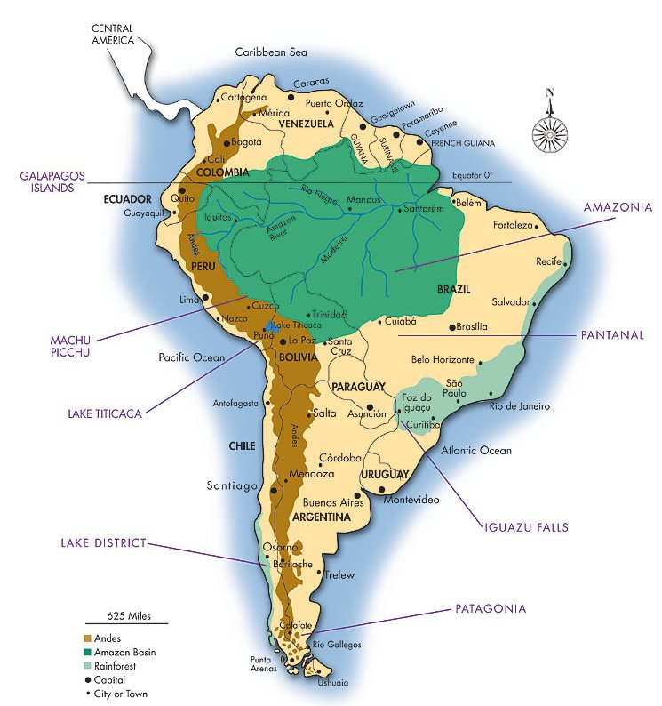 Amazon Forest Map Map of Amazon planned for National Geographic Magazine | Amazon