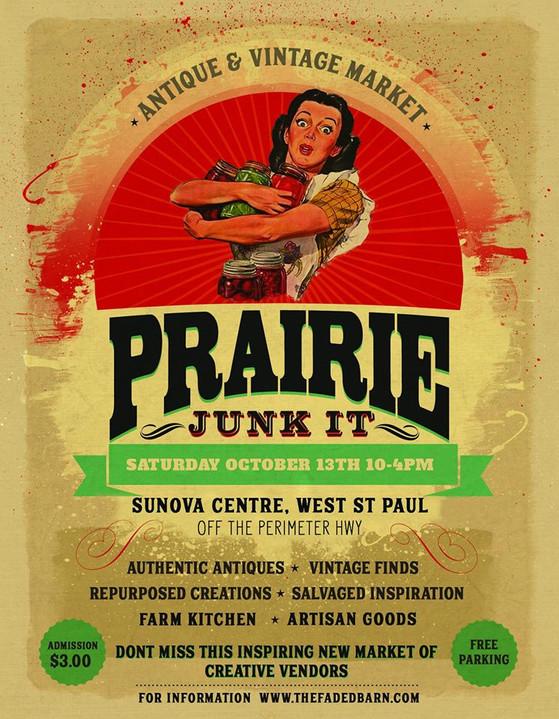 Prairie Junk It is this Saturday!