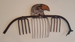 """Eagle"" Metal Sculpture"