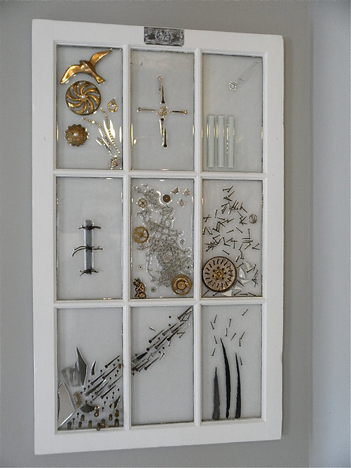 """Grace"" Window Assemblage"