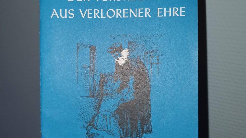 Der Verbrecher aus verlorener Ehe (Friedrich von Schiller)