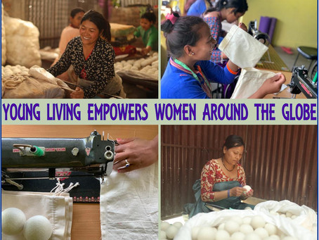 YOUNG LIVING FOUNDATION HELPS WOMEN IN NEPAL TO FIND FREEDOM AND STABILITY