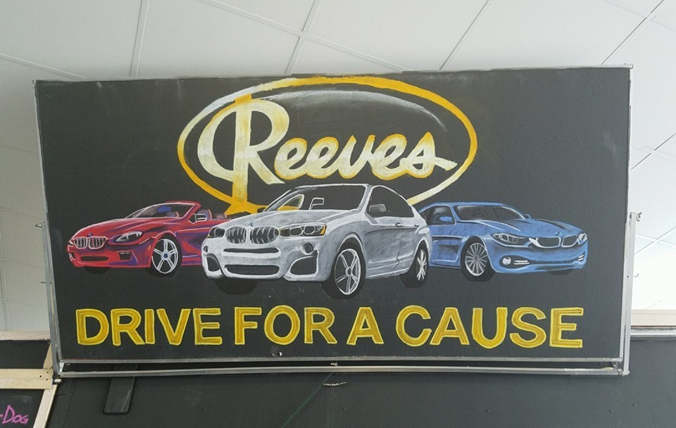 Reeves BMW Event