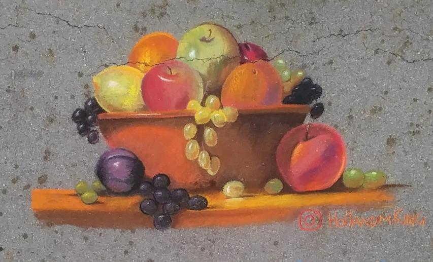 Still Life Fruitbowl