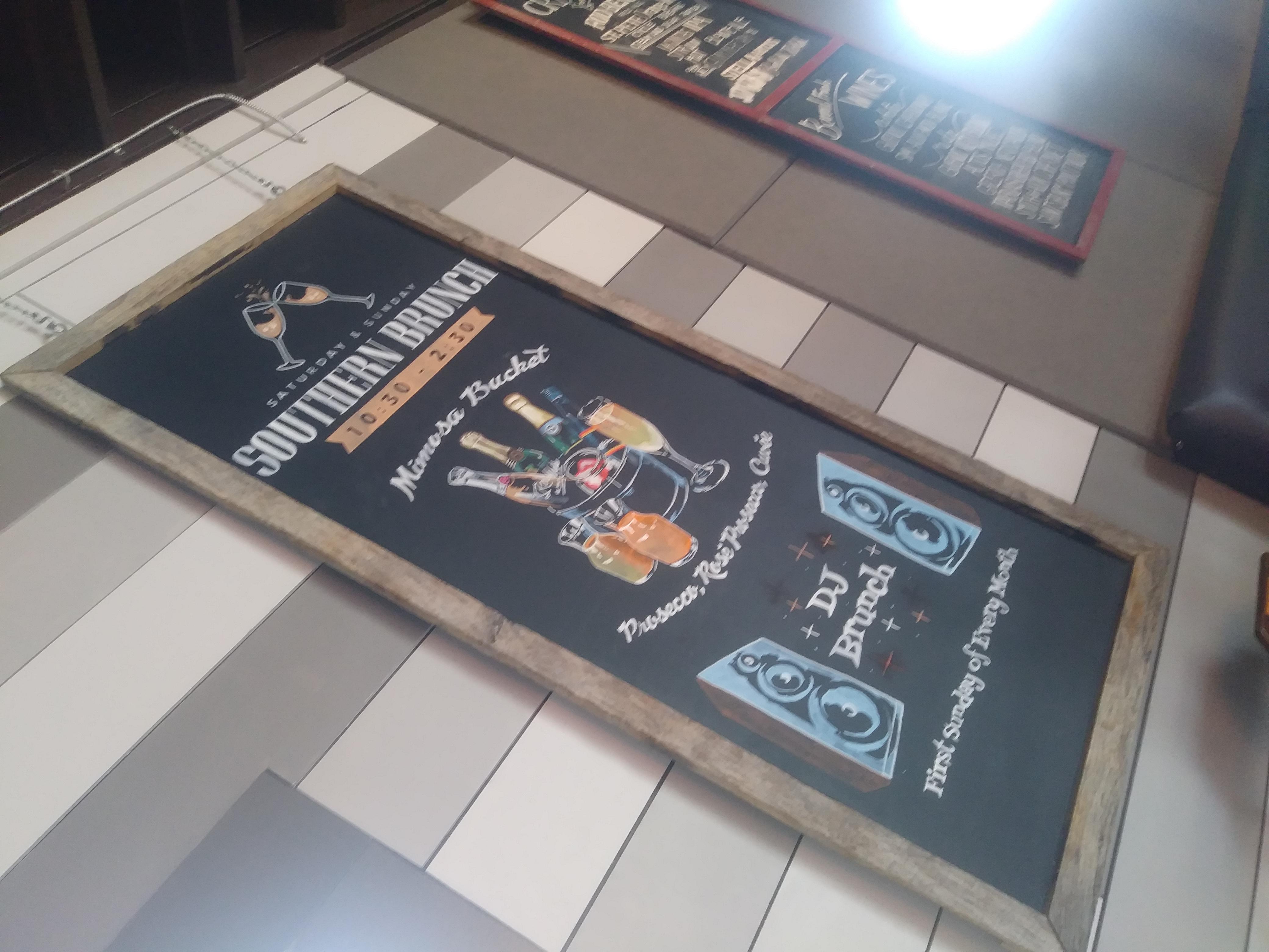 Noble Crust Ad Board