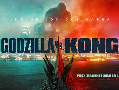 ¡Es hoy! ¡Es hoy! 'Godzilla vs. Kong' se estrena en cines