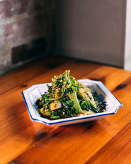 SESAME CHARRED GREENS