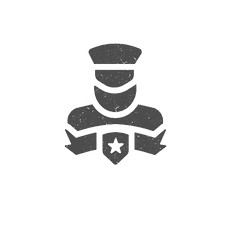 black-veterans-day-isolated-icon-simple-