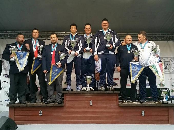 22° EUROPEAN CHAMPIONSHIP COMPAK SPORTING 2016-Team , Чемпионат Европы 2016 Спортинг Компакт