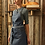 Thumbnail: District Waxed Look Denim Bib Apron