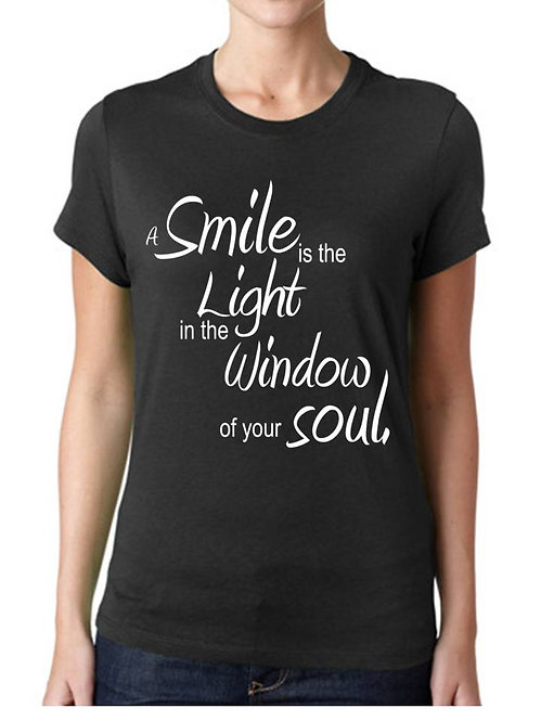 A SMILE IS THE LIGHT ...