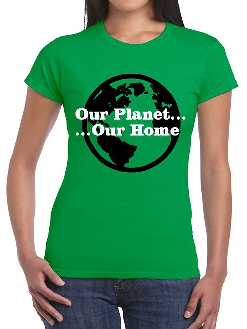 OUR PLANET, OUR HOME
