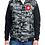 Thumbnail: Hooded Fleece Sleeved Puffer Vest