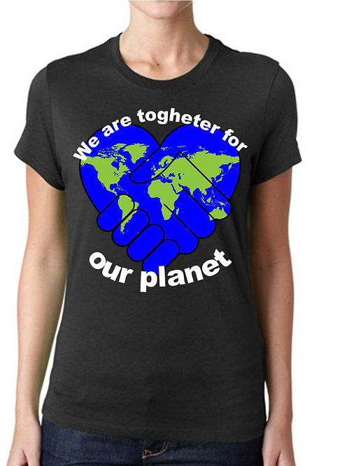WE ARE TOGHETER FOR OUR PLANET