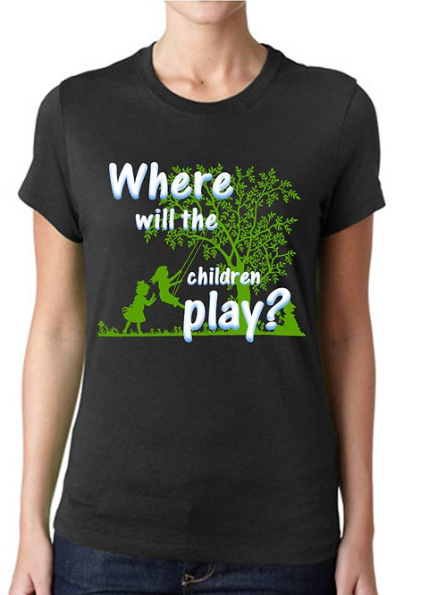 WHERE WILL THE CHILDREN PLAY