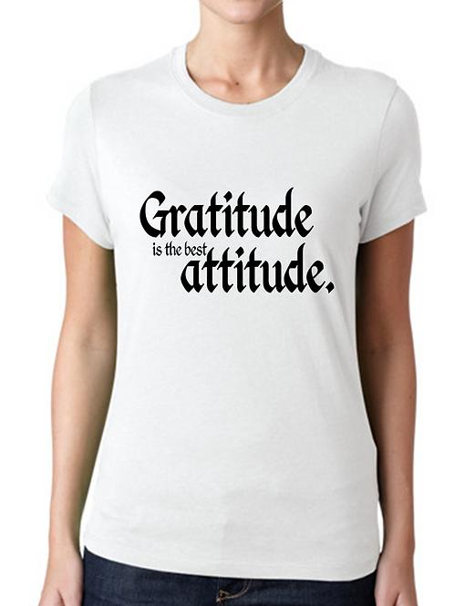 GRATITUDE IS THE BEST