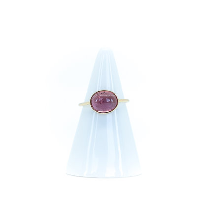 BAGUE PALOMA TOURMALINE - OR JAUNE 18 CARATS