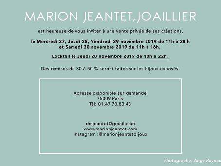 Lanka by dmj expose ses bijoux à Paris du 27 au 30 novembre 2019