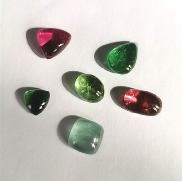 La sélection de pierres