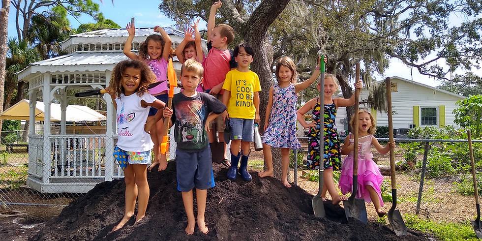 GARDENING AND NATURE STUDIES - AGES 5-7 - THURSDAYS 12:30PM-3:30PM