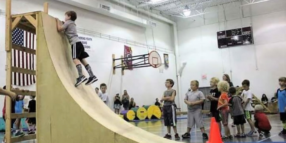 Ninja Warrior (Ages 5-14) 12:45pm-1:45pm   Thursdays