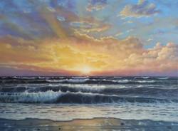 ''Sunset vibes''.