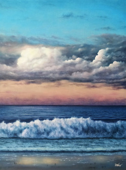 ''The lonely wave''.
