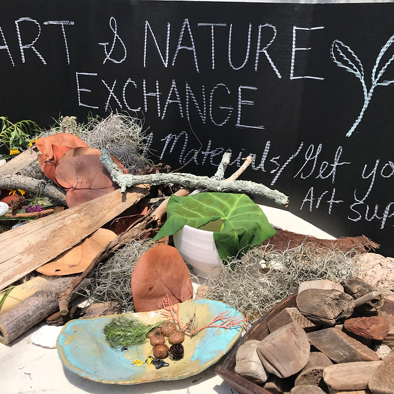 Community Art and Nature Exchange - Natural Mobiles
