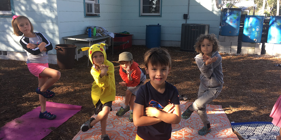 Nature Journaling & Yoga (Ages 5-8) 12:45pm-1:45pm | Fridays