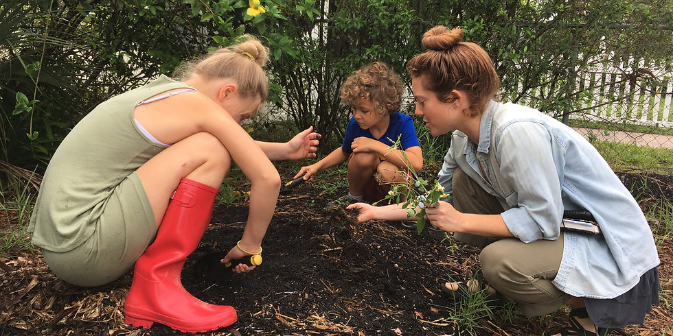 Permaculture (Ages 9-14) 12:45pm-1:45pm | Fridays