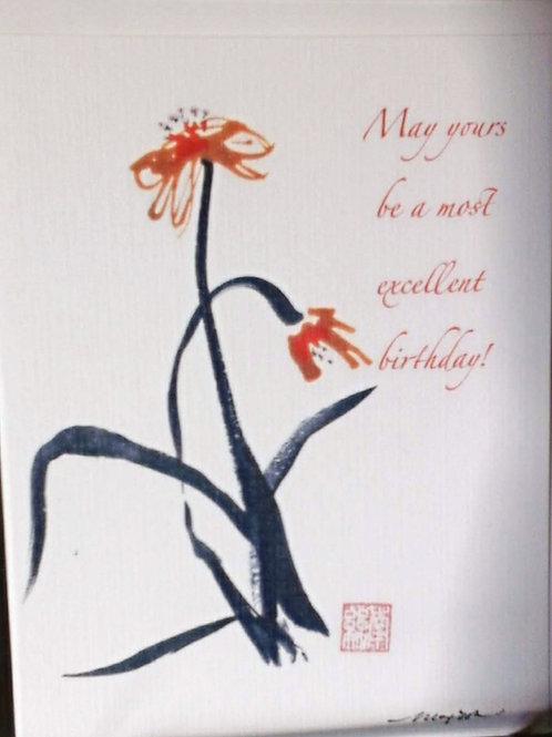 Card, Birthday Excellent