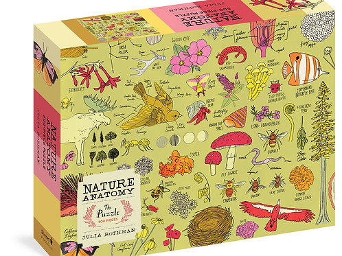 Nature Anatomy: The Puzzle (500 pieces)