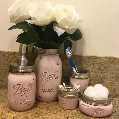 Mason Jar Bathroom Set – Mason Jar Bathroom Set
