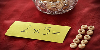 Multiplication with Cereal O's, Play & Learn with Cereal O's, Paolini Method