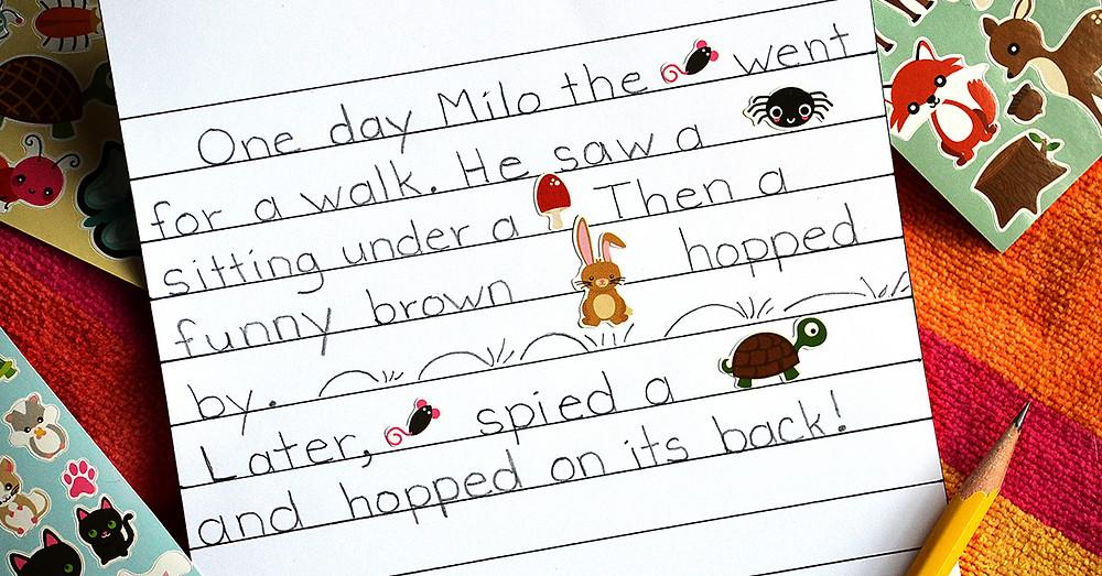 Sticker Stories, Read Write & Spell, Paolini Method, Talita Paolini
