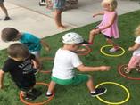 Hula hoop play