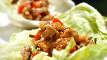 Family Meal AND Party Food Alert: Minced Chicken in Lettuce Cups!