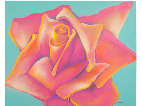 Rose 1 by Jimmy Paints