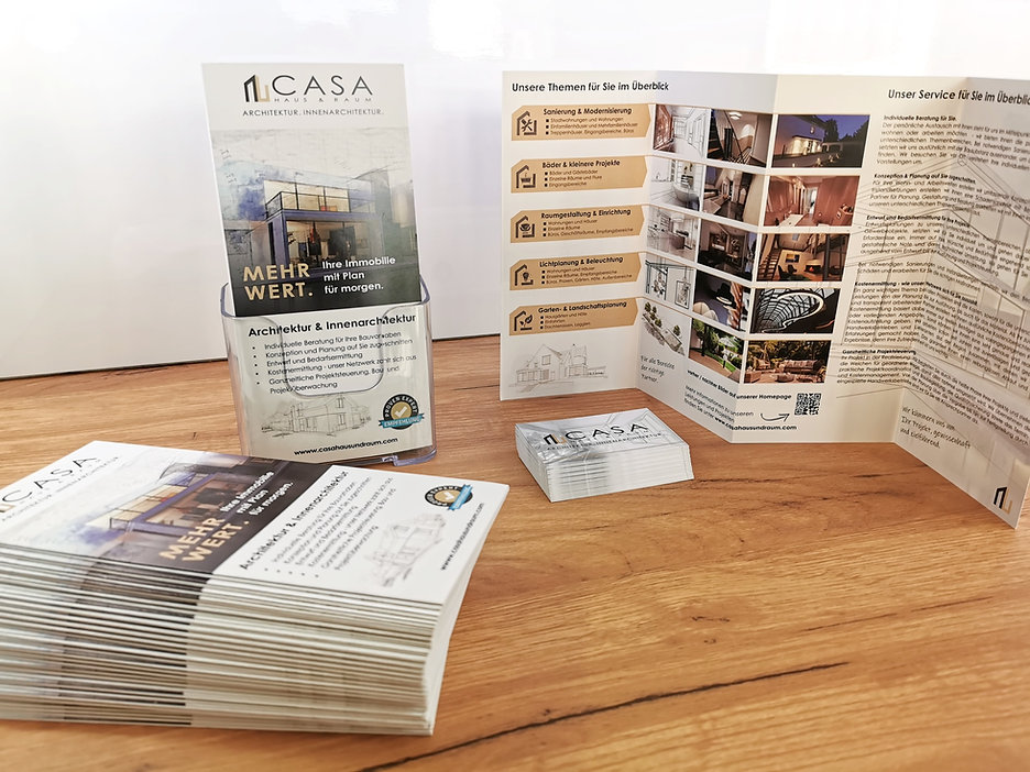 Casa Haus & Raum Broschüre