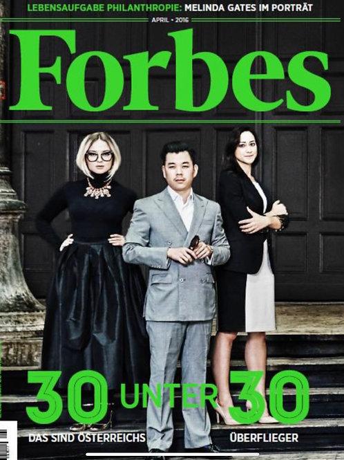 Forbes Magazine (April 2016)