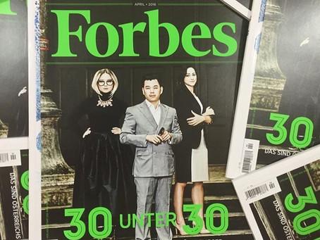 Forbes Magazine: Erfolg auf Taubenfuessen