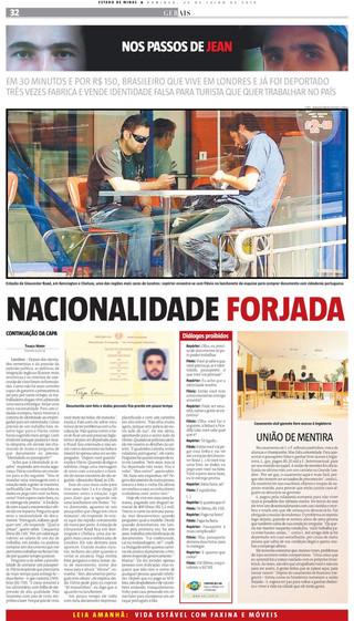 Nos Passos de Jean 2010 - Estado de Minas