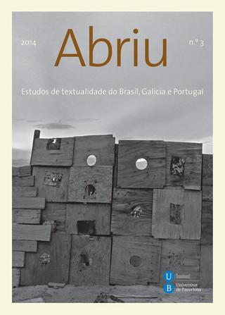 Abriu magazine 2014 (cover photograph)