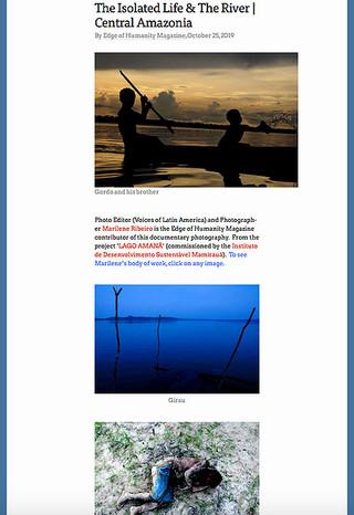 Edges of Humanity magazine - October 2019