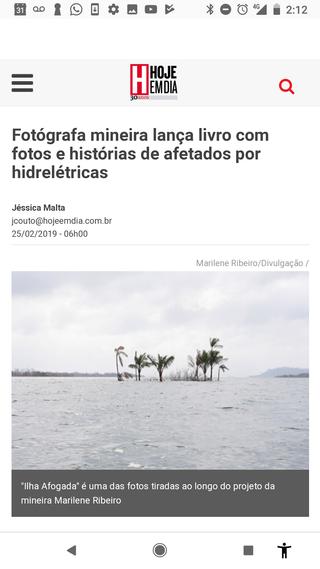 Hoje em Dia neswspaper 25th February 2019